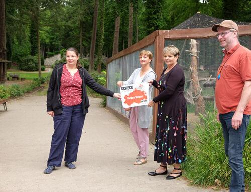Spende von 200 EUR – Der Tierpark sagt vielen Dank!